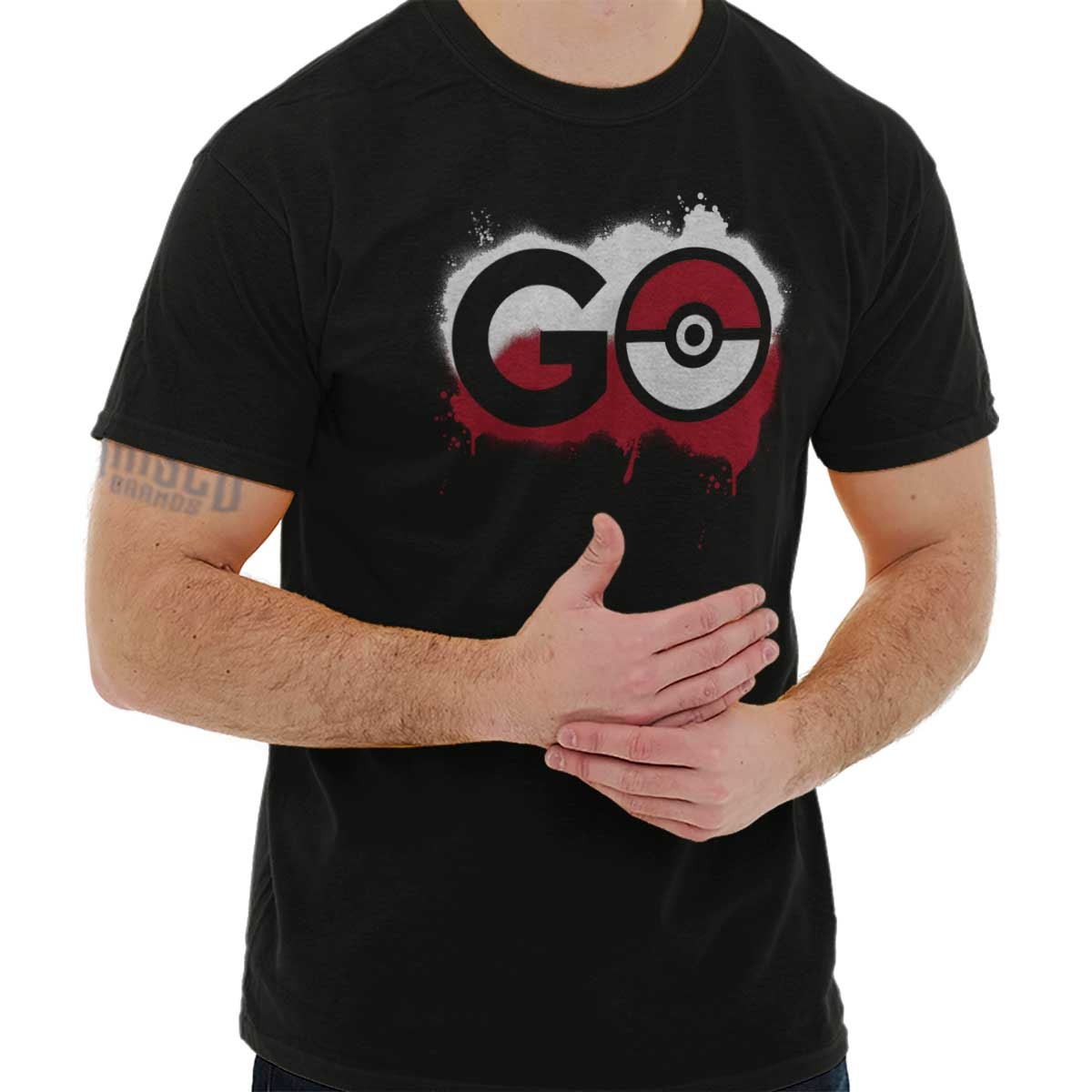 ab7ff524d Details about Pokemon Go Gamer Shirt Cute Cool Gift Idea Pokeball Pikachu  Classic T Shirt Tee