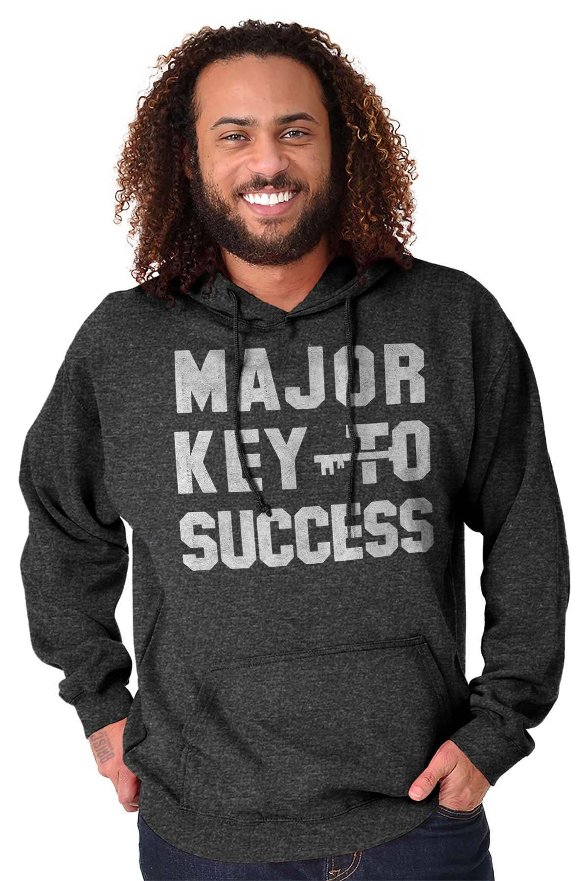 Major Key To Success Funny Hip Hop Rapper Hoodies Sweat Shirts Sweatshirts Ebay