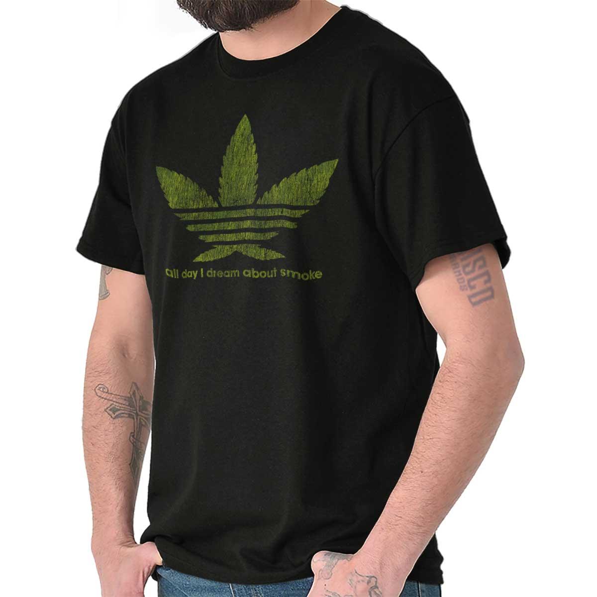 Stoner Tee Shirt Graphic Pot T-Shirt For Mens Womens Marijuana Gift TShirts T