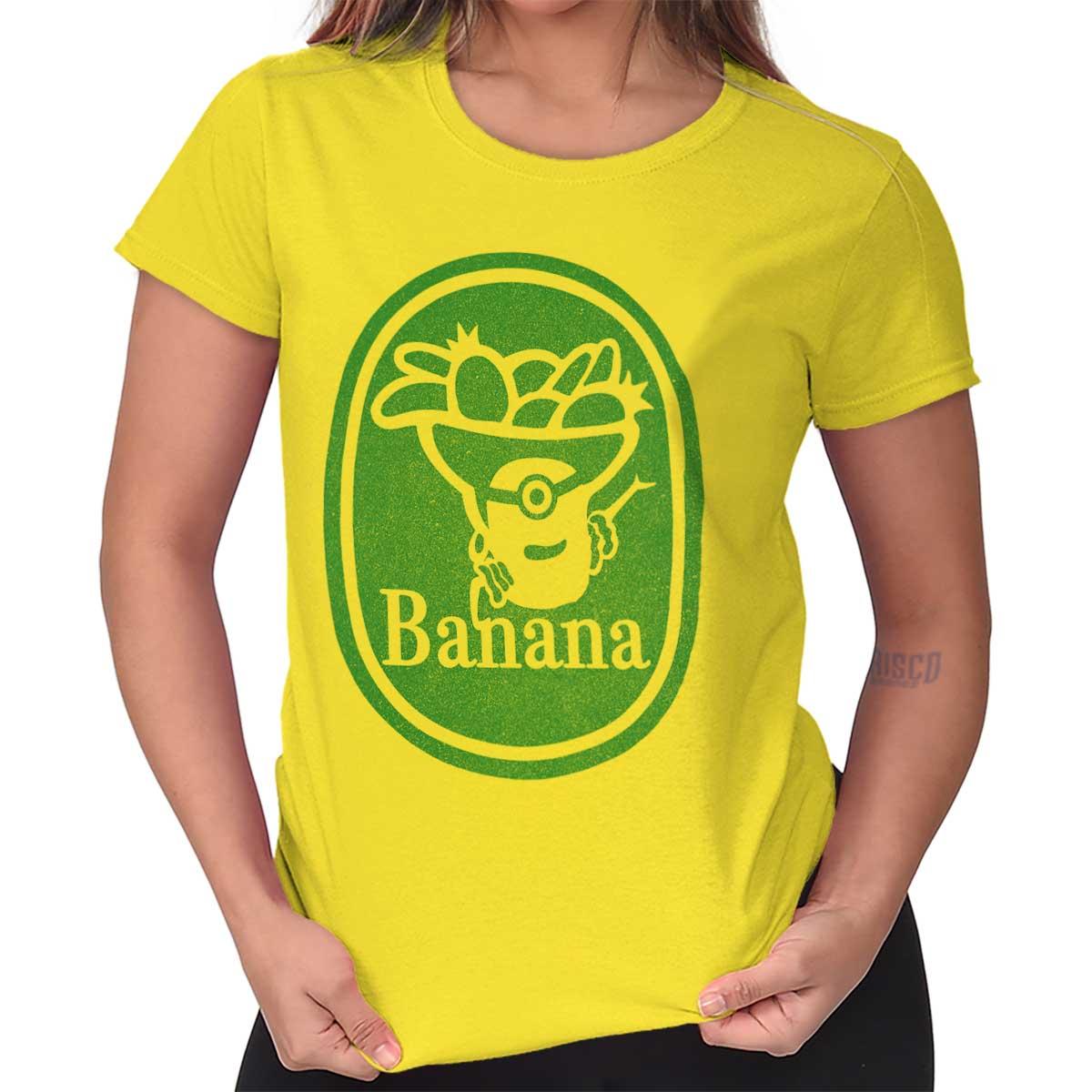 Banana Movie Funny Cartoon Novelty Graphic Tee Shirts Tshirts For