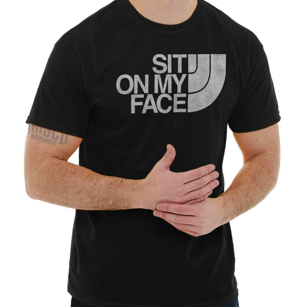 Funny saying x-rated shirt for men choking hazard funny men/'s tee adult humor