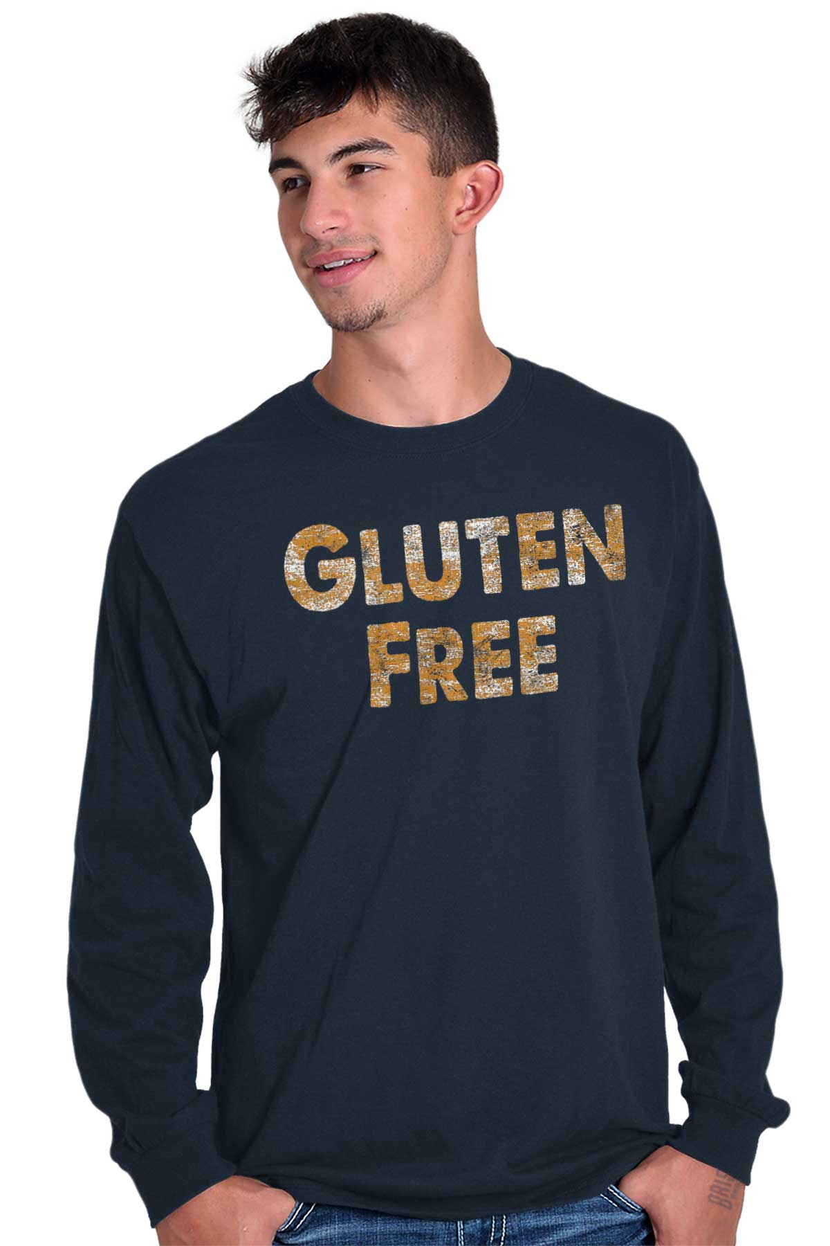 Gluten Free Bread Funny Novelty Graphic Gift Long Sleeve ...