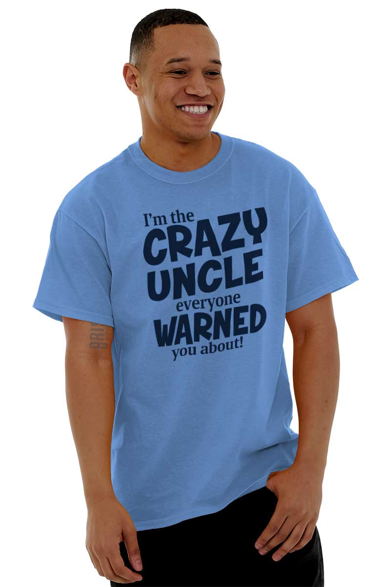 5688db24 Crazy Uncle Funny Aunt T Shirt Tee Parents Family Party T-Shirt Top ...