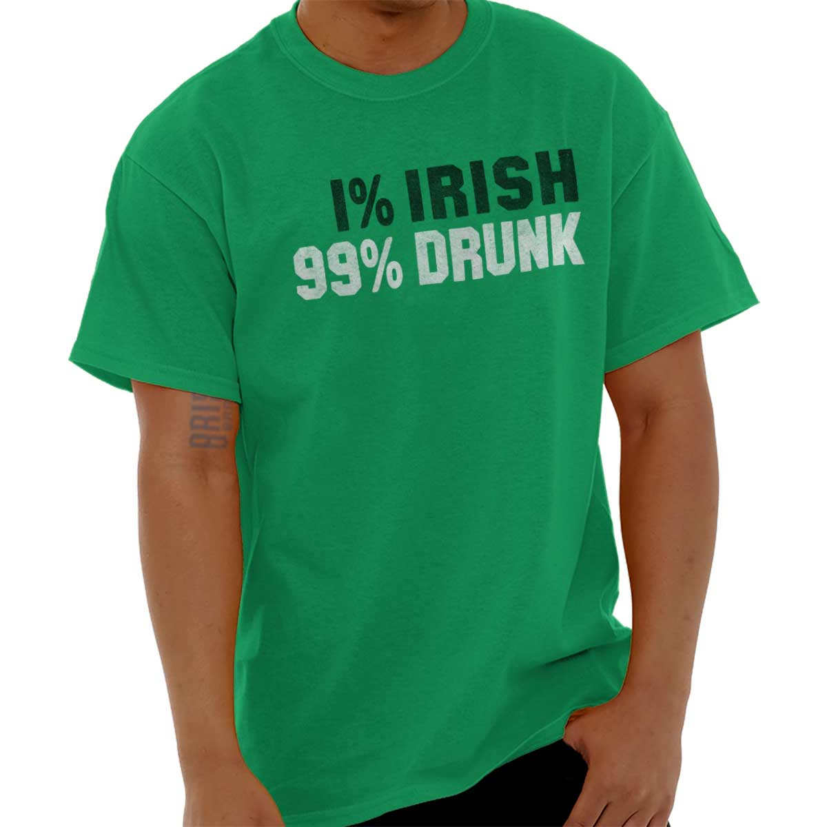 66687a65 Details about Irish Drunk Funny St Patricks Day Patty Shirt Beer Cool Drink  Classic T Shirt Te
