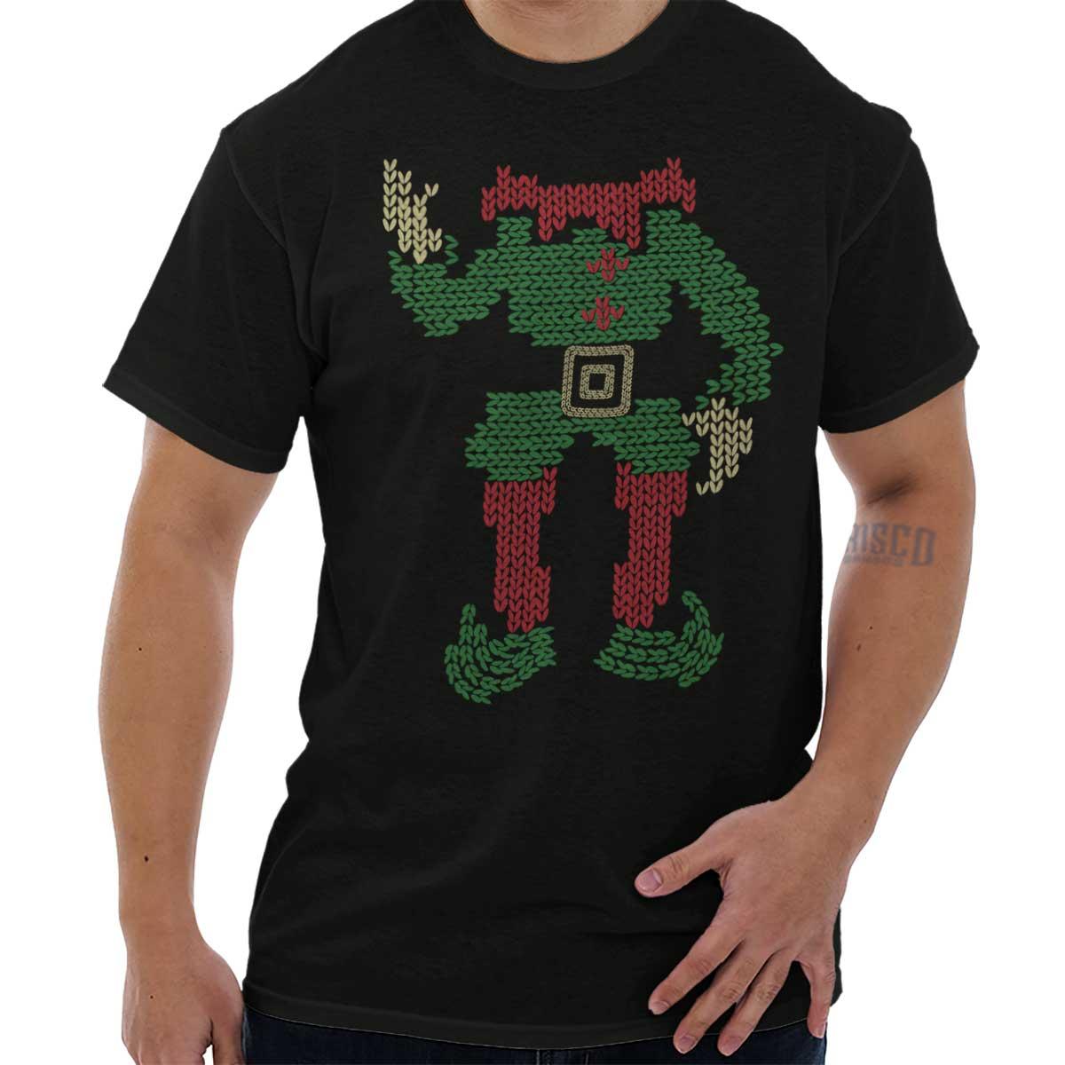 45095a505 Sport-Kapuzenpullis & -Sweatshirts Elf Head Santa Ugly Christmas Sweater  Funny Shirts Gift Ideas Cool Sweatshirt