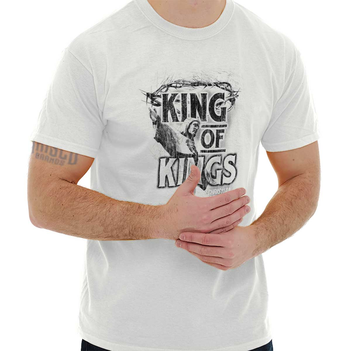 edf35f171 Strong Lord Jesus Christ Christian T Shirt