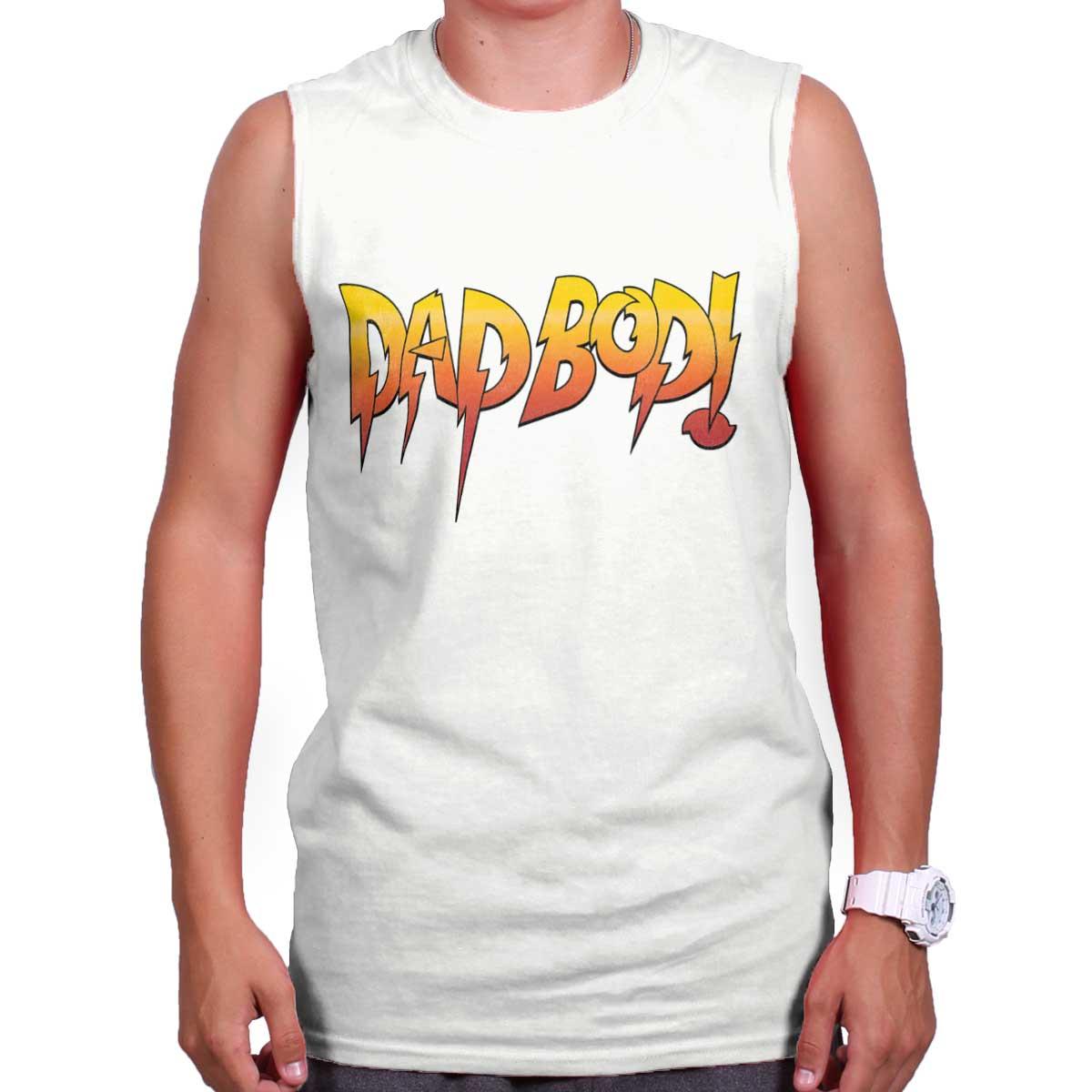 d388aea3d Dad Bod Joke Rowdy Wrestling Fathers Day Gift Idea WWE Sleeveless Tee