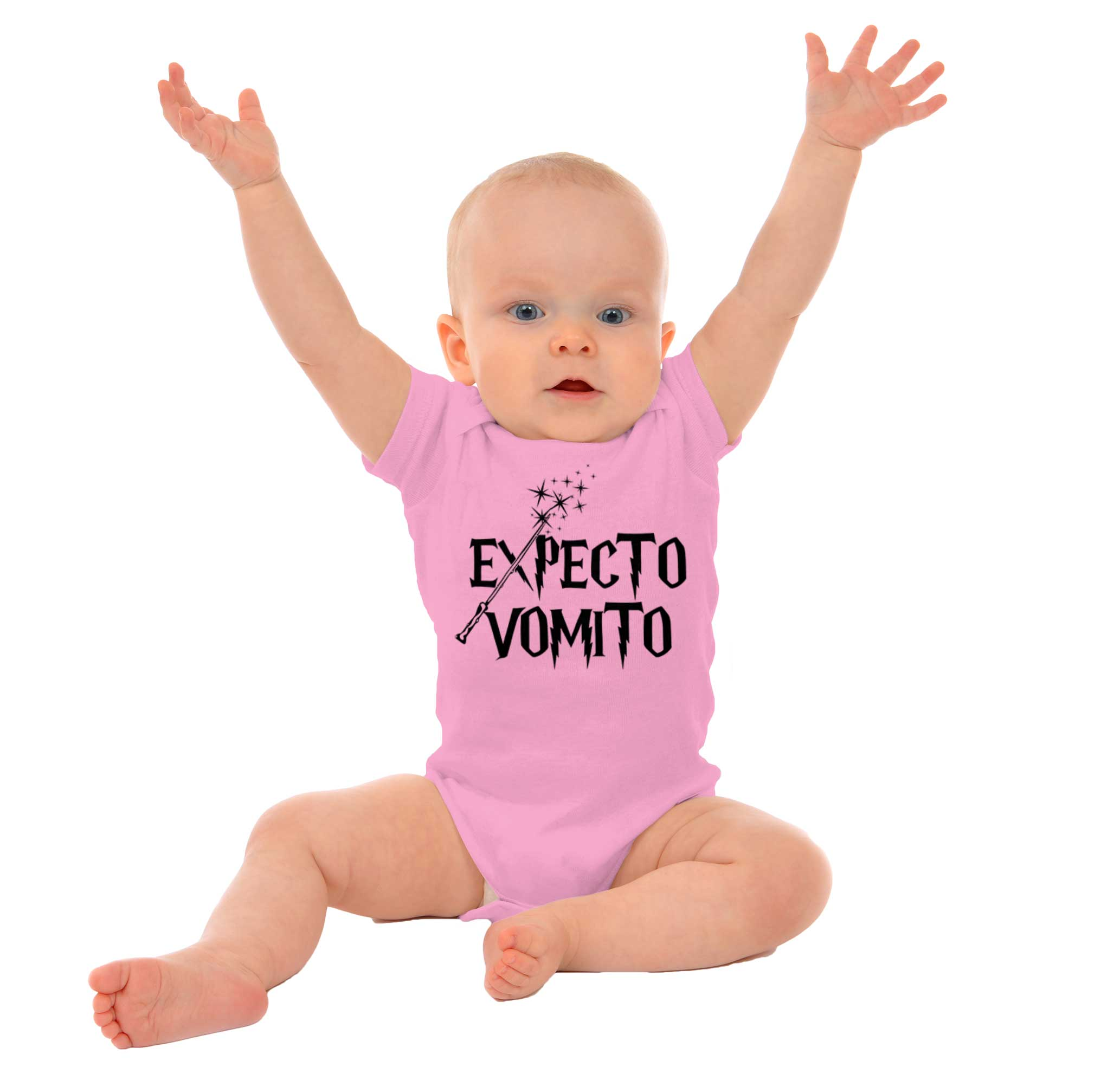 Funny Magic Wizard School Wands Spell Class C Newborn Romper Bodysuit For Babies