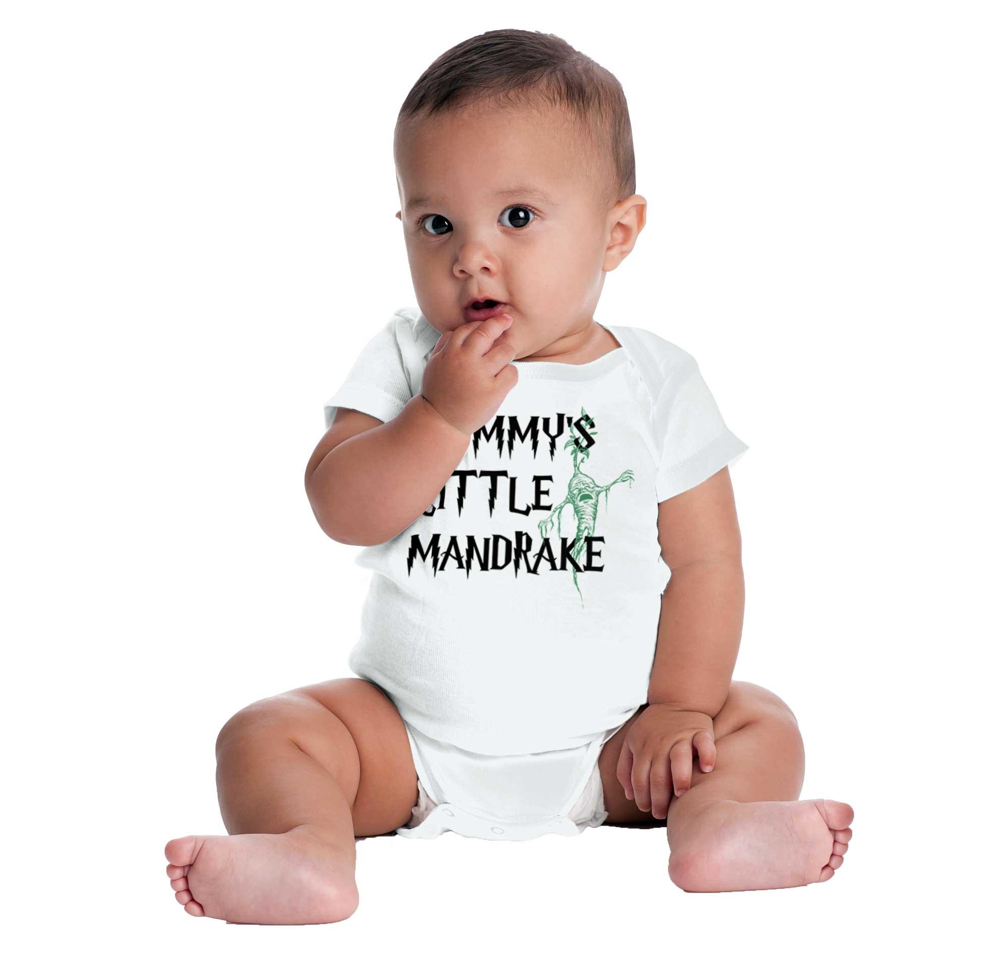 Mommys Little Mandrake Magic Screaming Plant Infant Football Baby Bodysuit