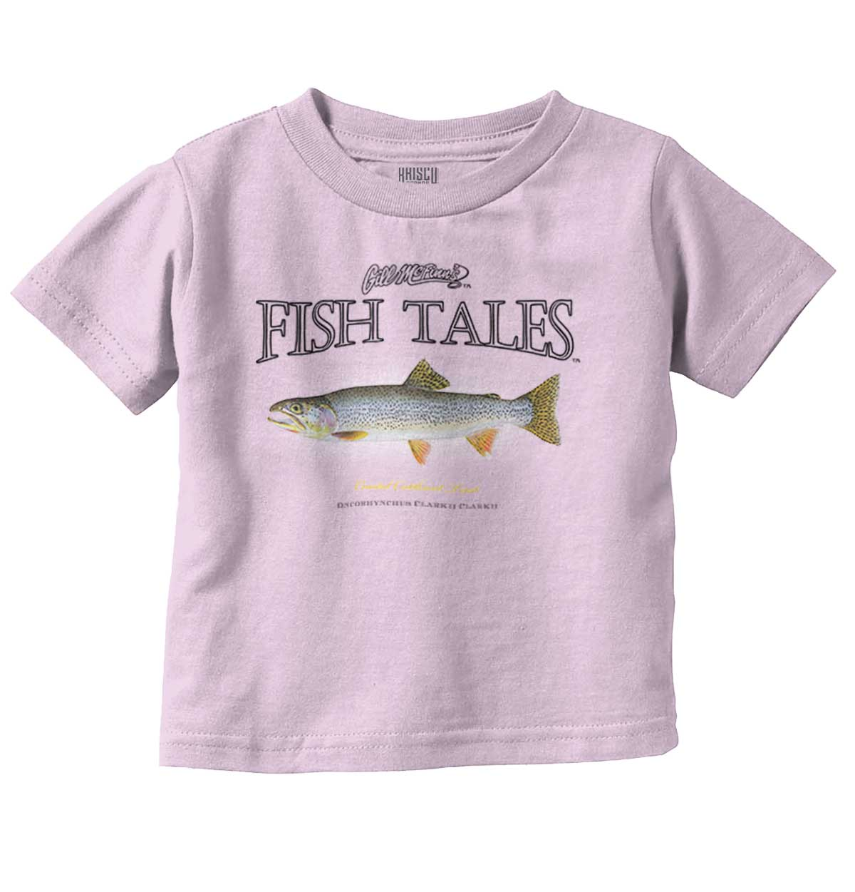 Paiute Cutthroat Trout Fishing Fisherman Fathers Day Infant Baby Romper