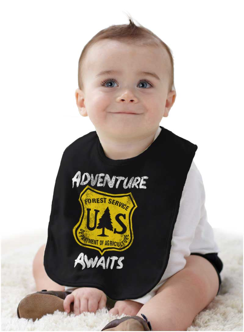 Adventure Awaits US National Forest Service Kids Youth Newborn Infant Rompers